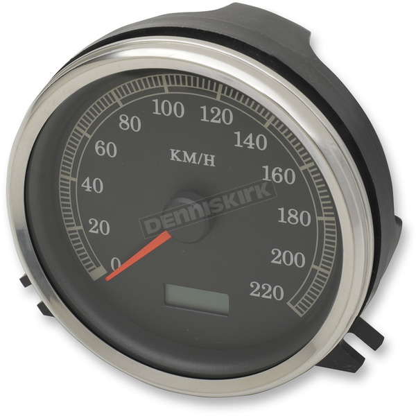 Drag Specialties Electronic Speedometer (KPH) - 2210-0344