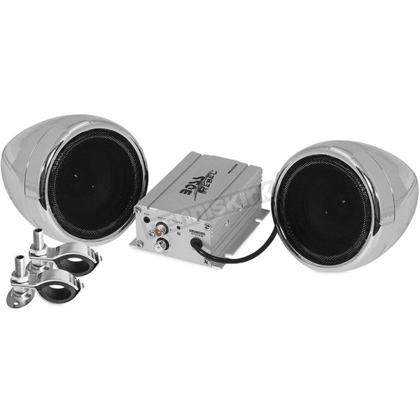 Boss Audio Chrome 600-Watt Bluetooth 3 in. Speaker Kit - MC420B