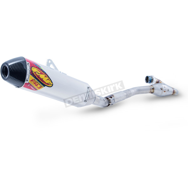 FMF Stainless/Aluminun Factory 4.1 RCT Exhaust System w/Carbon End Cap - 042355