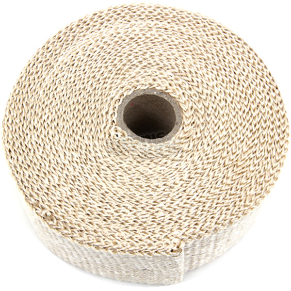 V-Twin Manufacturing Light Brown Fiberglass Exhaust Wrap - 48-0137