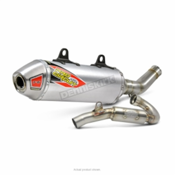 Pro Circuit T-6 Stainless Steel Exhaust System - 0161745G