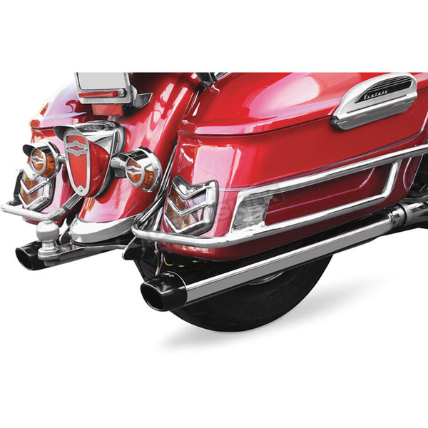 Baron Custom Accessories Slip-On Mufflers - BA-1030-01