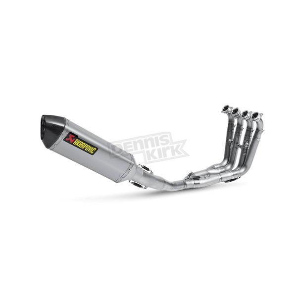 Akrapovic Stainless/Titanium/Carbon Racing Line Shorty Exhaust System  - S-B10R1-RT