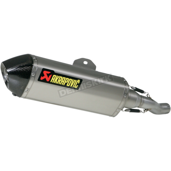 Akrapovic Stainless/titanium/carbon slip-on  - S-H25SO1-HRSS