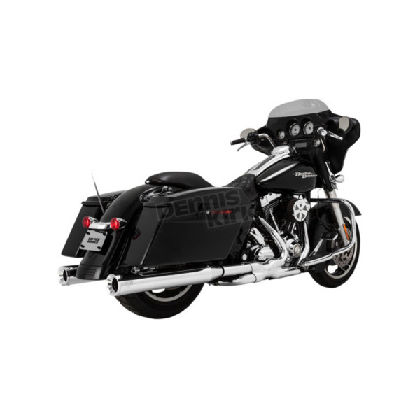 Vance & Hines Chrome Eliminator 400 Slip On Mufflers - 16703