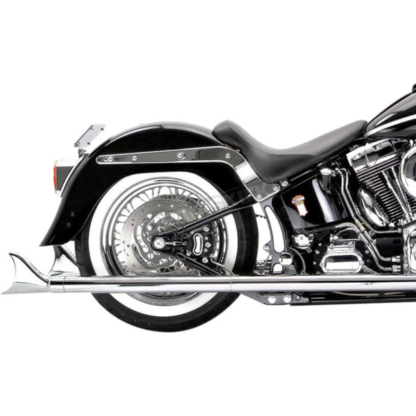 Samson 33 in. Mufflers w/Removable Longtail Tip - S-295