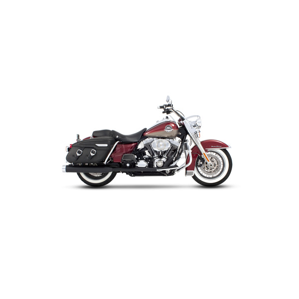 Rinehart Black Classic Duals w/Chrome End Caps - 100-0301C