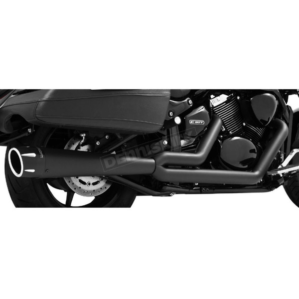 Black Combat Series Exhaust System - MK00016