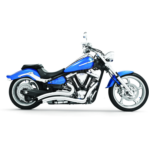 Freedom Performance Chrome Sharp Curve Radius Series Exhaust System - MY00083