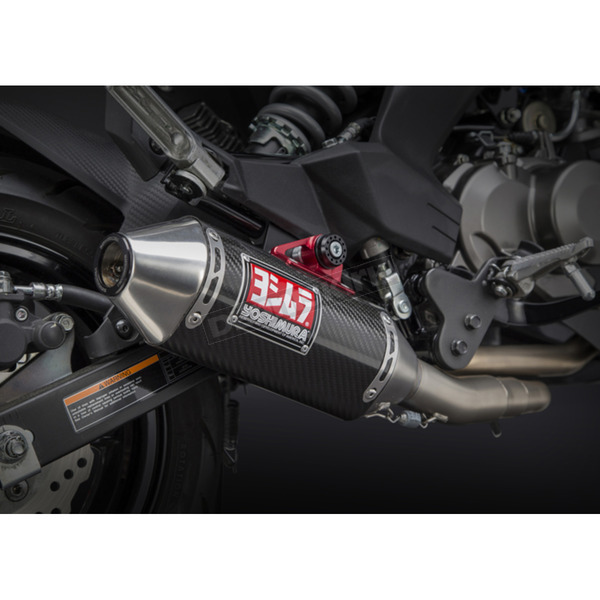 Yoshimura RS-2 Race Series Stainless/Carbon Fiber/Stainless Complete Exhaust System - 14120AB250