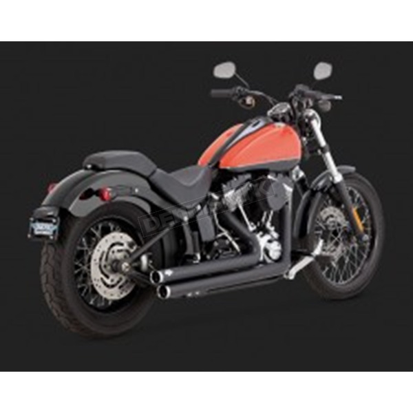 Vance & Hines Big Shots Staggered Exhaust System - 47939