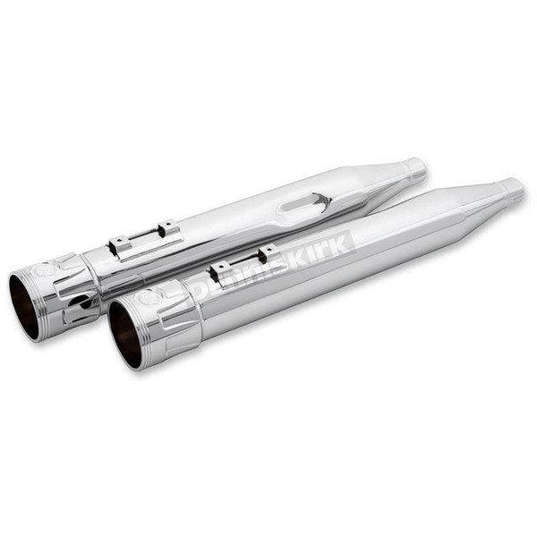 Paul Yaffe Chrome Crown Cult 45 Slip-On Mufflers - 18053