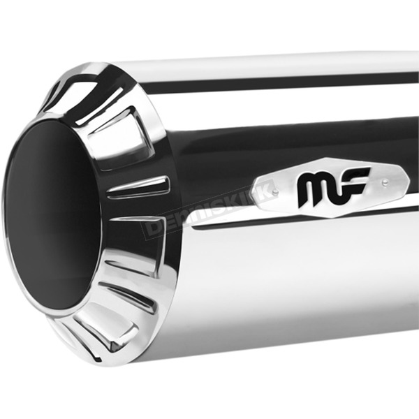 Magnaflow Chrome Riot Slip-On Mufflers - 7202101