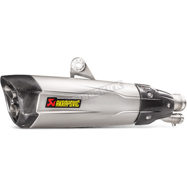 Akrapovic Silver Titanium Slip-On  - S-B10SO6-HDVZT