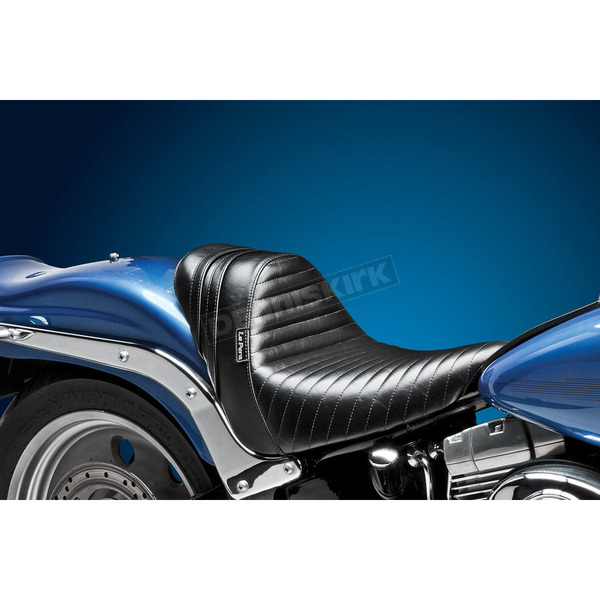 LePera Stubs Spoiler Seat w/Black Stripes - LK-410