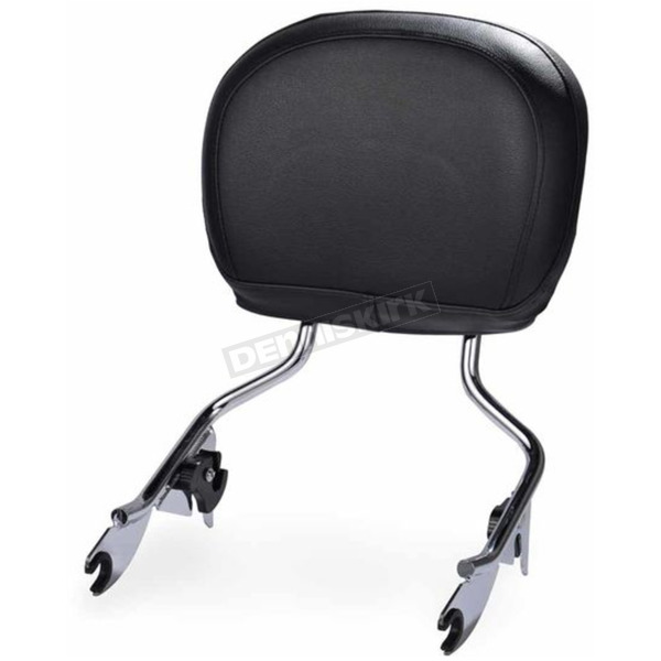 HogWorkz Chrome Tall Boy Detachable Sissy Bar Backrest - HW157111