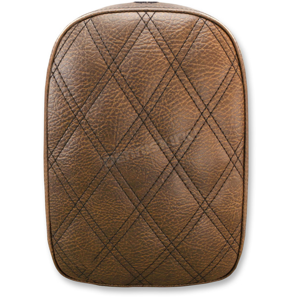 Saddlemen Brown Lariat Detachable Pillion Pad - SA1026