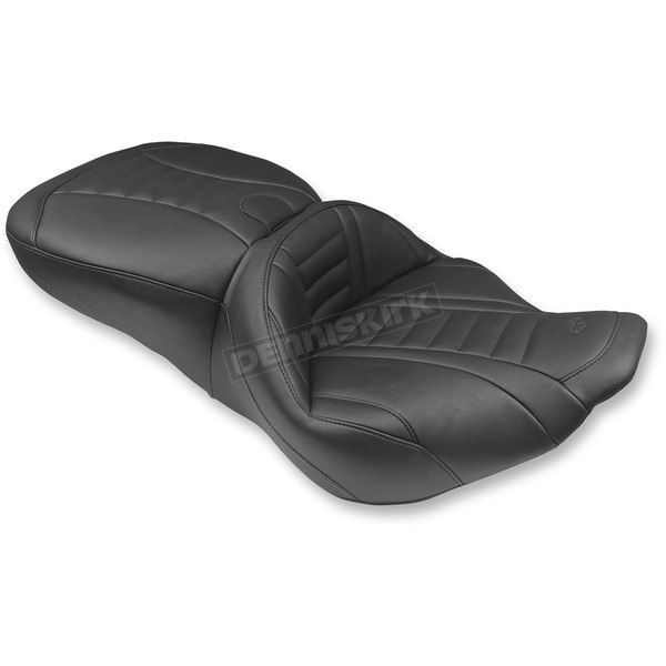 Mustang Seats Black Super Deluxe Touring Seat