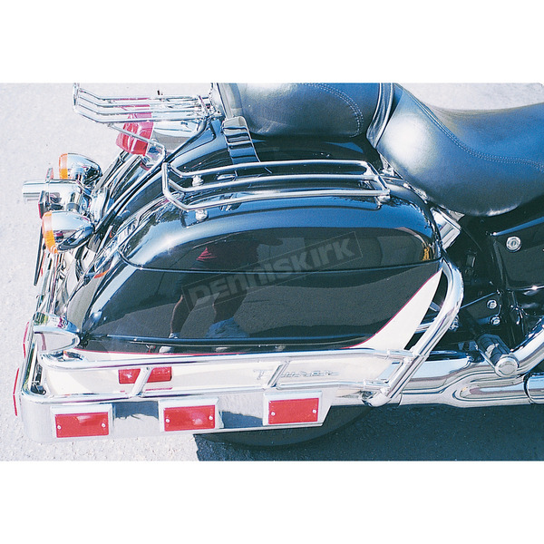 MC Enterprises Chrome Saddlebag Top Racks  - 472-13