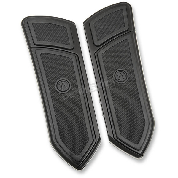Performance Machine Black FTZ Driver Floorboards - 0036-1008-BM
