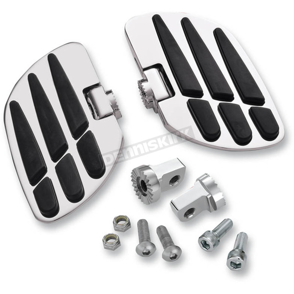 Show Chrome Chrome Passenger Vantage Boards - 21-911