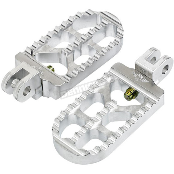 Joker Machine Raw Long Serrated Foot Pegs - 08-56-4