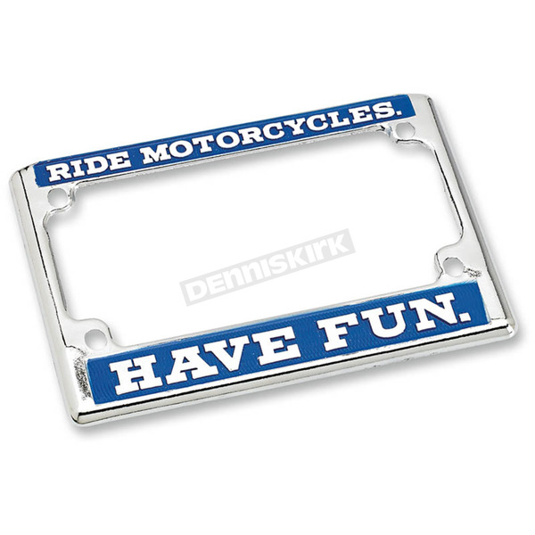 Biltwell Ride License Plate Frame - LP-ZIN-DC-HF