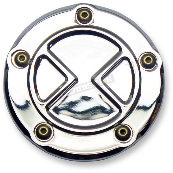 Carl Brouhard Designs Chrome Bomber Series 5 Hole Points Cover - BS-PT-C