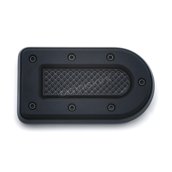 Kuryakyn Satin Black Heavy Industry Brake Pedal Pad - 7040