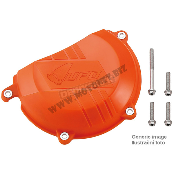 UFO Orange Clutch Cover - AC02412