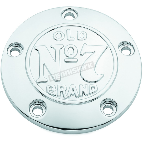 Jack Daniels Chrome Old No.7 Timing Cover - 106-235