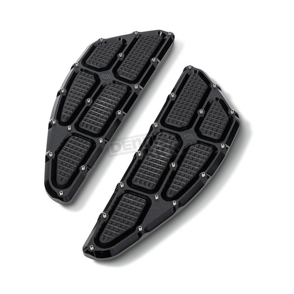 Black Ops Traction Rider Floorboards - 0036-1011-SMB