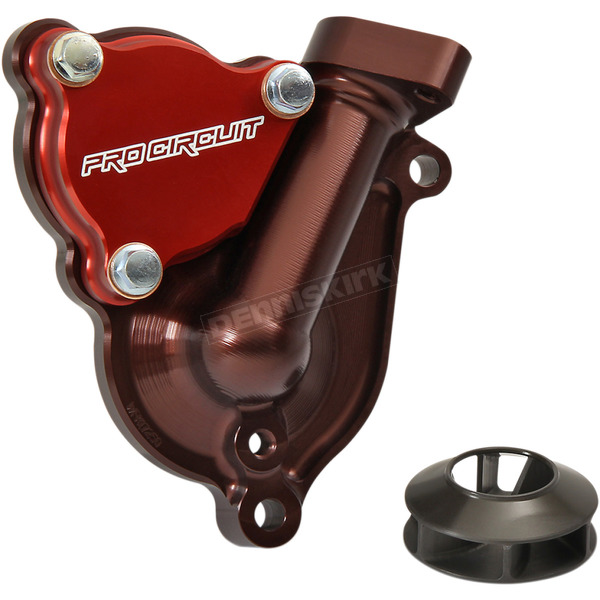 Water Pump Cover with Impeller - WPK17250