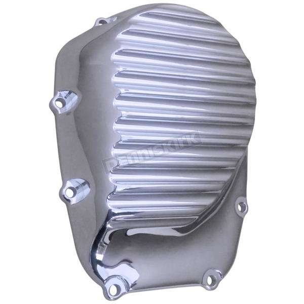 Covingtons Customs Chrome Finned Cam Cover - C1399-C