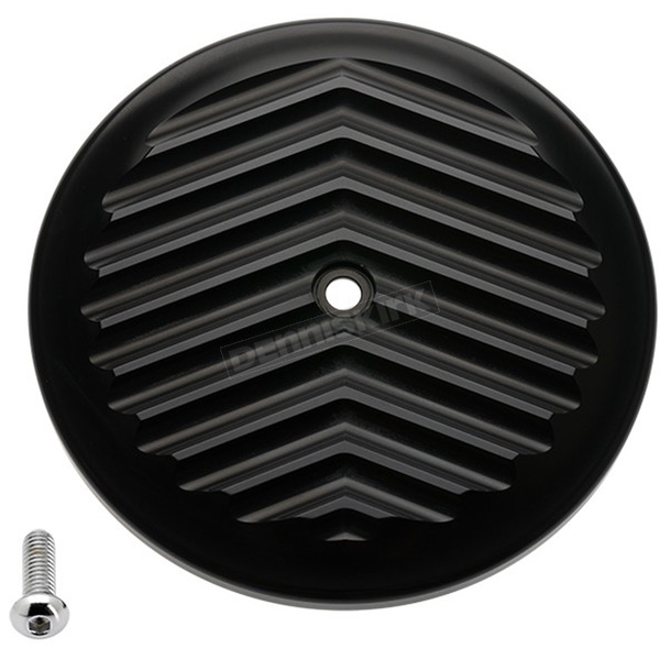 Joker Machine Black V-Fin VT Air Cleaner Cover - 02-224-1