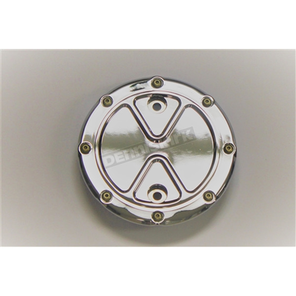 Carl Brouhard Designs Chrome Bomber Series Stator Cover - BS-SCIS-C