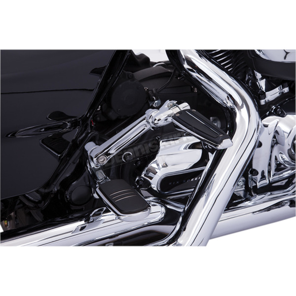 Ciro Chrome Adjustable Passenger Comfort Peg Mounts - 60200