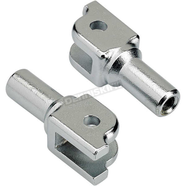 Chrome Replacement Clevis for Mushman Driver Pegs - 0107-1640-05