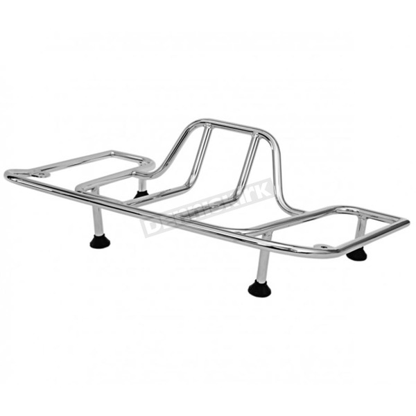 Chrome Trunk Luggage Rack - 45-1838
