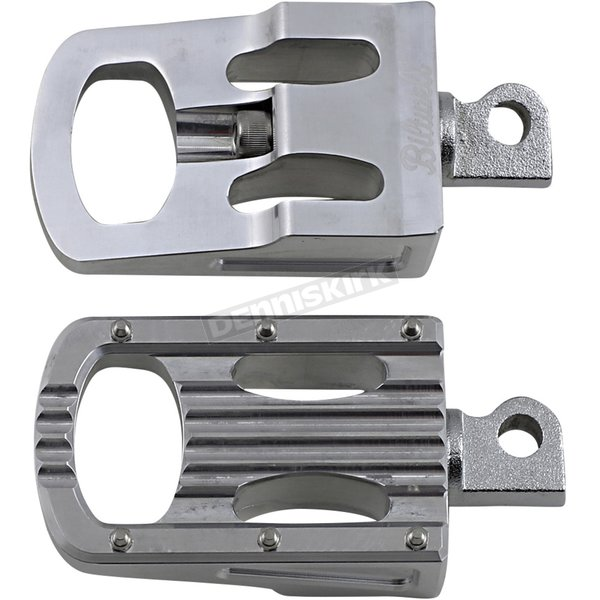 Polished  Punisher Footpegs - 7005-303-01