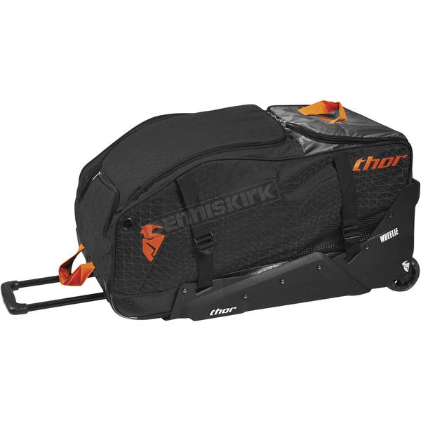 Thor Black/Red Orange Transit Wheelie Bag - 3512-0186