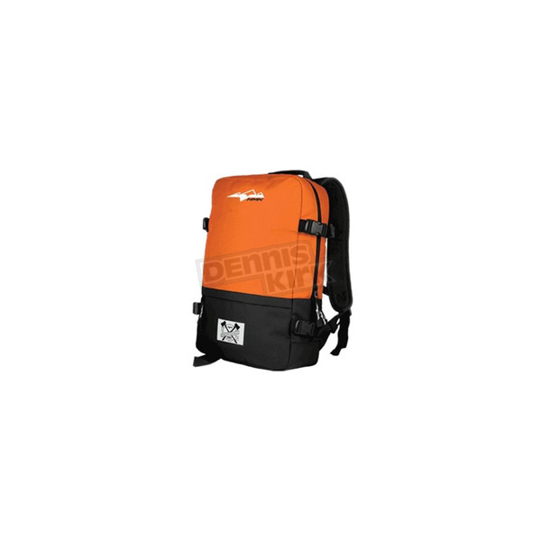HMK Orange/Black Clutch Backpack - HM4CLUOB
