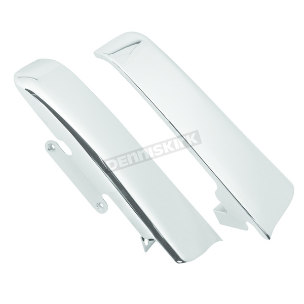 V-Factor Chrome Saddlebag Filler Panels - 26316