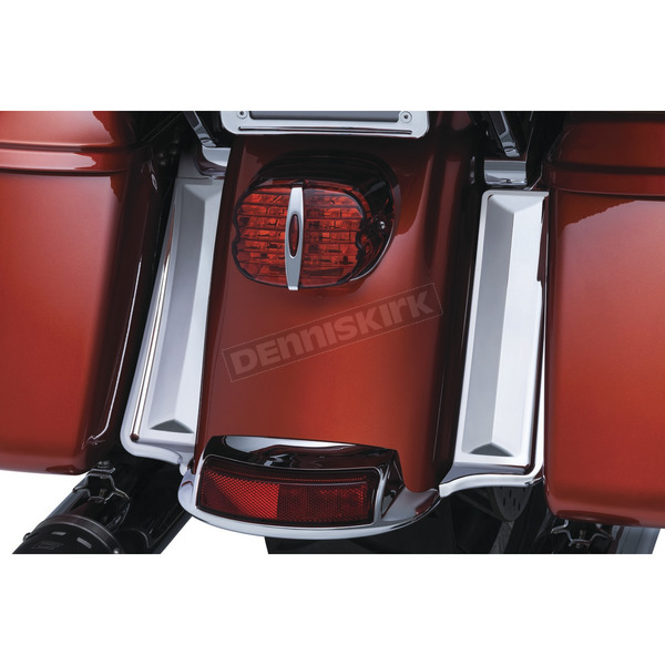 Kuryakyn Chrome Saddlebag Filler Panels - 6980