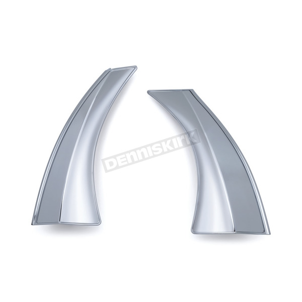 Kuryakyn Chrome Side Panel Scoops - 7180