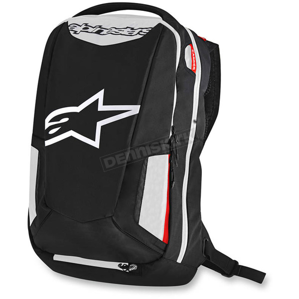 Alpinestars Black/White/Red City Hunter Backpack - 6107717-123