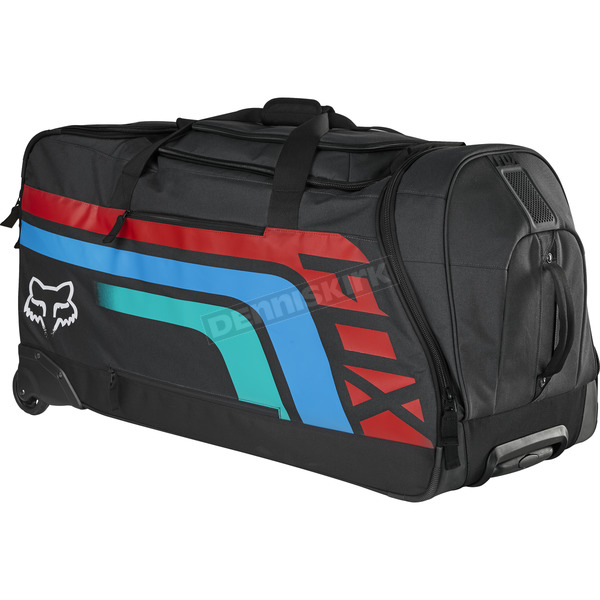 Fox Gray/Red Shuttle Roller Seca Gear Bag - 17806-037-NS