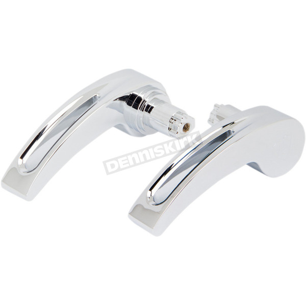 Chrome Deep Cut Saddlebag Latch Levers - 03-334