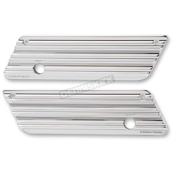 Arlen Ness Chrome 10-Gauge Saddlebag Latch Covers - 03-607