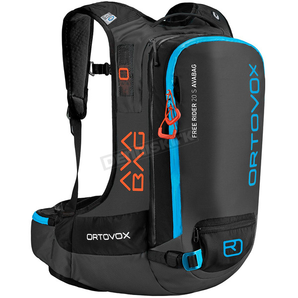 Ortovox Black Anthracite Free Rider 20 S AvaBag Kit - 4646700001